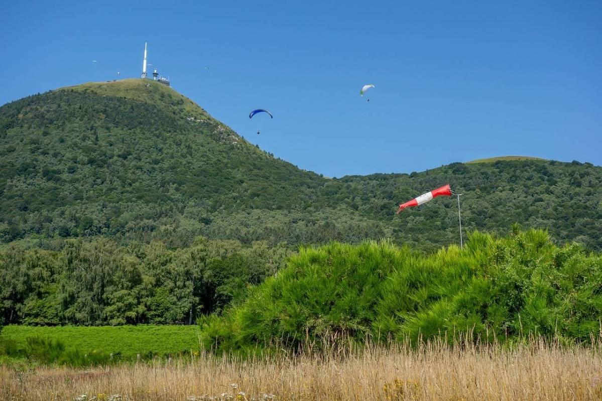 Atterrissage Puy de Dôme Taillerie