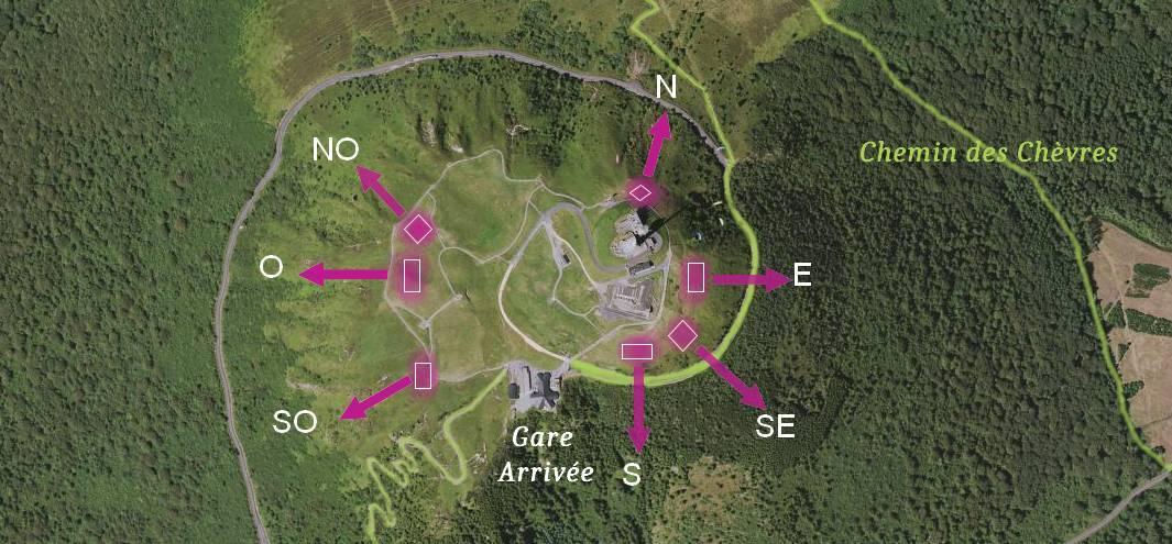 décollages du Puy de Dôme