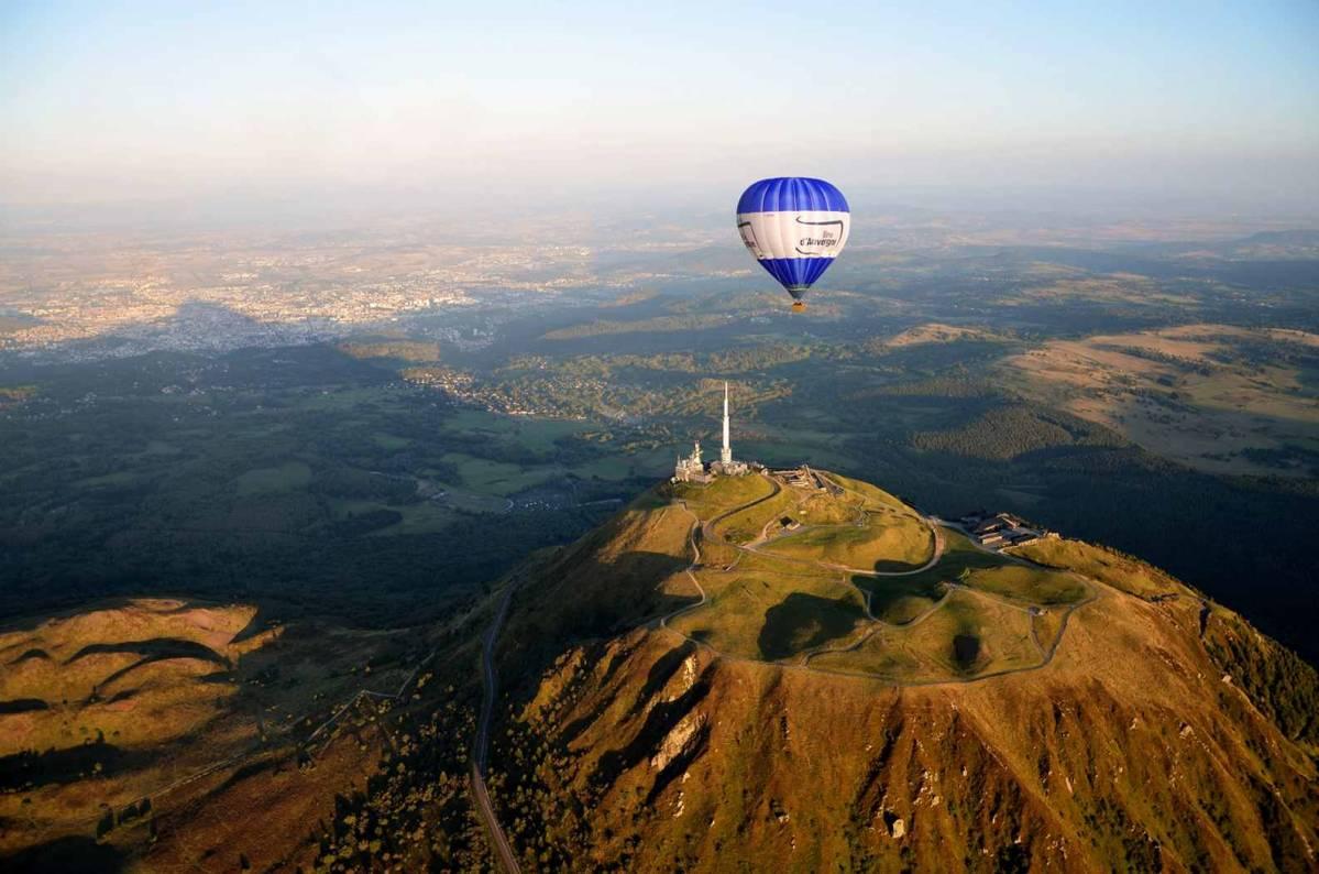auvergne montgolfière