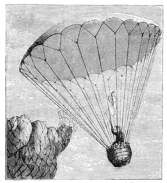 parachute ancien