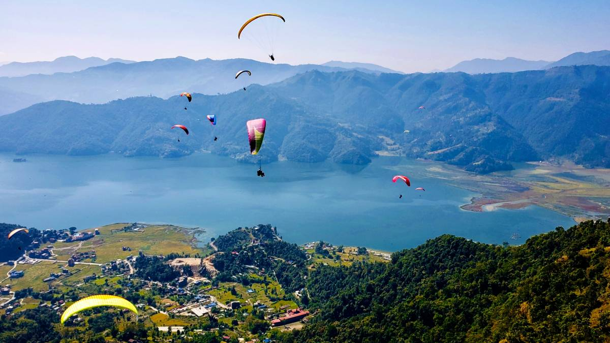 saison parapente pokhara