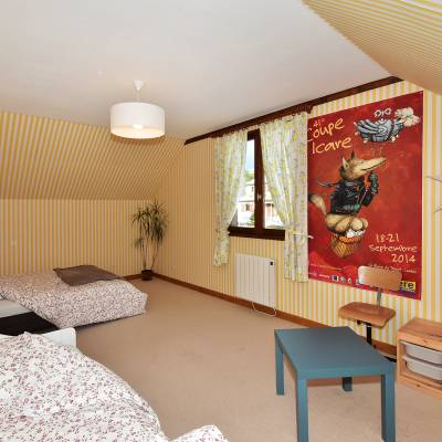 Chambre Freedom gite Puy de Dôme