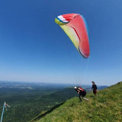 decollage parapente puy de dome