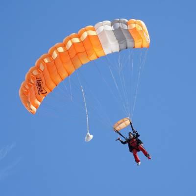 parachute ouverture